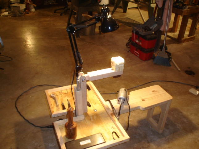 Diy wood carving workbench wooden pdf homemade