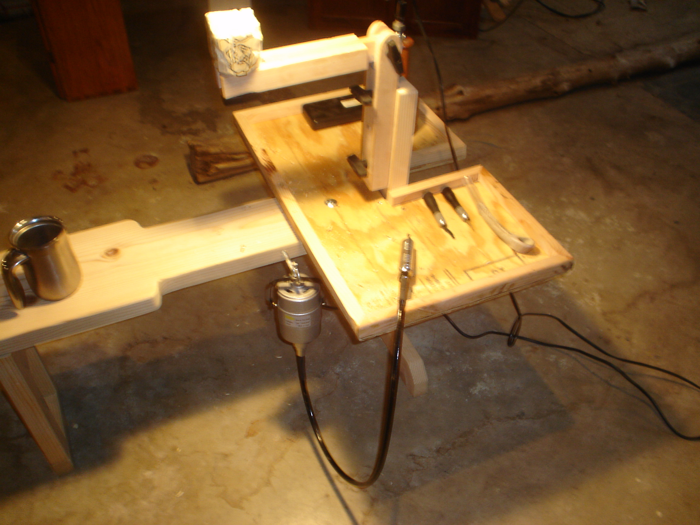 Wood carving vise plans fine working tools